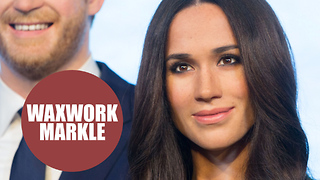 Madame Tussauds unveils a waxwork of Meghan Markle - Video