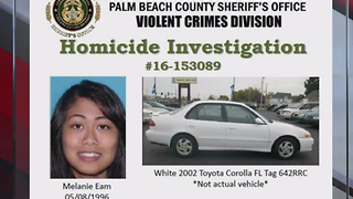 Search for woman known to murder victim