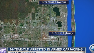 14-year-old boy charged in armed carjacking - Video