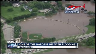 Burlington mayor issues curfew due to flooding