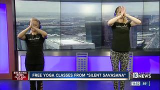 Free yoga classes from Silent Savasana - Video