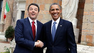 EXPLOSIVE: OBAMA AND RENZI FORMER PM OF ITALY ORCHESTRATED THE THEFT OF U.S. ELECTIONS