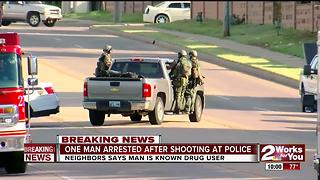 Tulsa Police targeted after East Tulsa shooting - Video