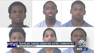 Traveling thieves targeting gated communities