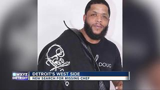New search for missing Detroit chef - Video
