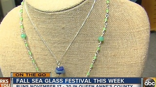 Sea Glass Festival to be held in Queen Anne's County - Video