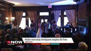 Pastor marrying immigrant couples for free - Video
