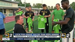 "Maryland ""pub league"" soccer team keeps winning, will play D.C. United in national tournament"