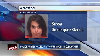 Instagram model arrested for attacking officer - Video