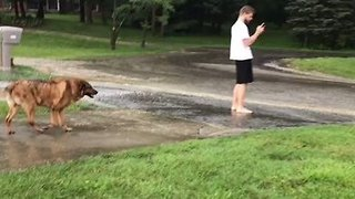 Flash Flooding Hits Columbus Area - Video