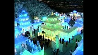 Chinese Ice Sculpture Festival - Video