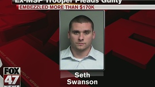 Former MSP trooper pleads guilty to embezzlement scheme - Video