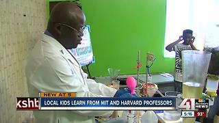 MIT and Harvard students helping KC youth - Video