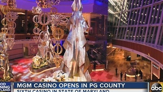 MGM Casino opens in Prince George's County - Video
