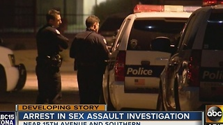 Authorities digging into sexual assault investigation