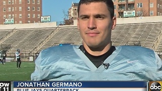 Johns Hopkins football team continues playoff run - Video