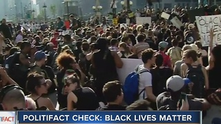 PolitiFact Wisconsin: Black Lives Matter - Video