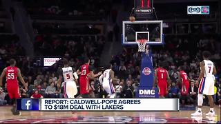 Kentavious Caldwell-Pope lands with Lakers - Video