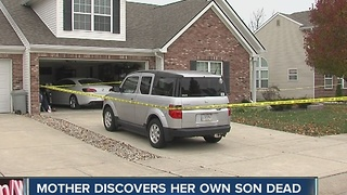 Greenwood mother discovers son dead in home
