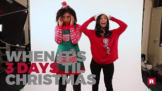Generation Gap's countdown to Christmas: 3 Days - Video