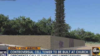 Neighbors oppose cell phone tower planned for San Tan Valley church - Video