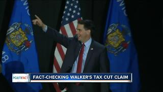 PolitiFact: Walker's tax cuts - Video