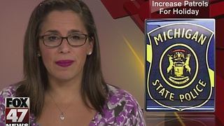 MSP to increase patrols for holiday - Video
