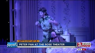 Peter Pan onstage at the Rose - Video