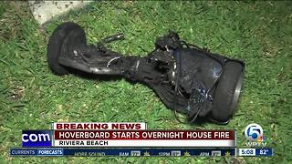 Riviera Beach family says hoverboard sparked house fire - Video