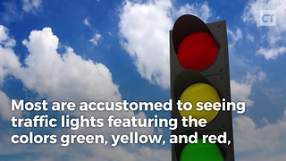 What to Do If You Come to a Blue Traffic Light - Video