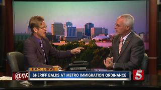 Davidson County Sheriff Balks At Proposed Immigration Enforcement Ordinance - Video
