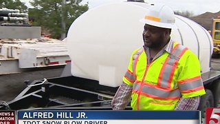 TDOT Uses Warm Weather To Prep For Next Winter Storm - Video