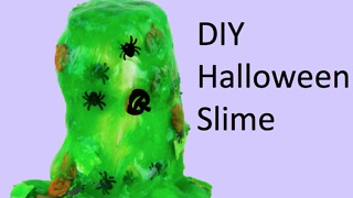 DIY Halloween slime - Video