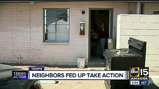 Several residents complain about Tempe apartments - Video