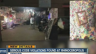 Serious code violations found at Rhinoceropolis - Video