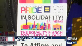 Equality March and rally held in Las Vegas - Video