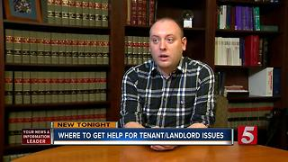 Legal Aid Offered For Low Income Residents Dealing With Tenant/Landlord Problems - Video