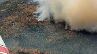 Aerial Views Show Extent of Wall Fire Blaze in Butte County - Video