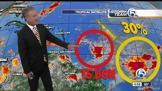 Tropical Storm Don forms - Video
