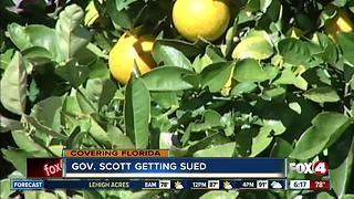 Gov. Scott getting sued - Video