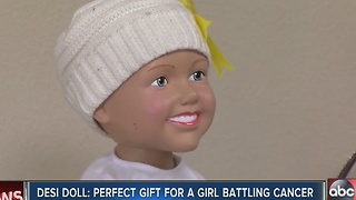 Family creates doll to honor daughter, help children with cancer - Video