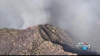 Highline Fire: Two small communities evacuated - Video