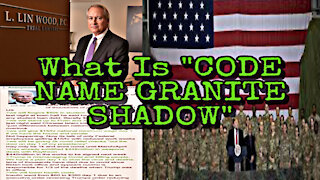 "What Is "" Code Name Granite Shadow?"" :coded:"