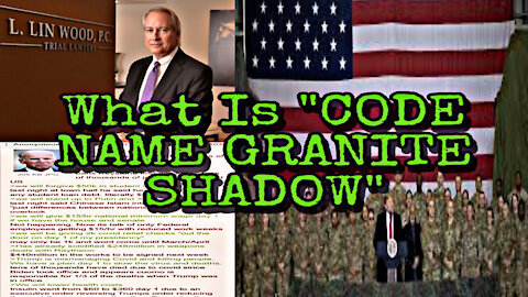 """What Is """" Code Name Granite Shadow?"""" :coded:"""