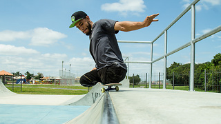 Legless Pro Skateboarder Turns Tragedy Into Triumph - Video