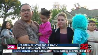 Kern Museum Offers Safe Halloween Alternative - Video