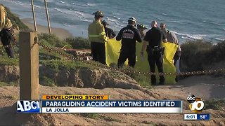 Paragliding Accident victims identified