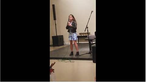 "Girl amazingly performs ""Don't Stop Believing"" by Journey"