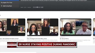 ER Nurse staying positive during pandemic