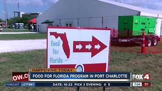Food for Florida event continues Monday in Port Charlotte - Video